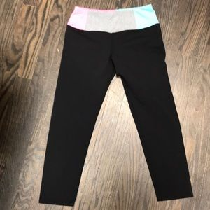 HardTail cropped athletic leggings
